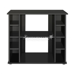 Подставка без дверок  ALTUM 135/ CRYSTAL 145 (чёрная шагрень) влагостойкая плита ЛДСП 16/22 мм, кром