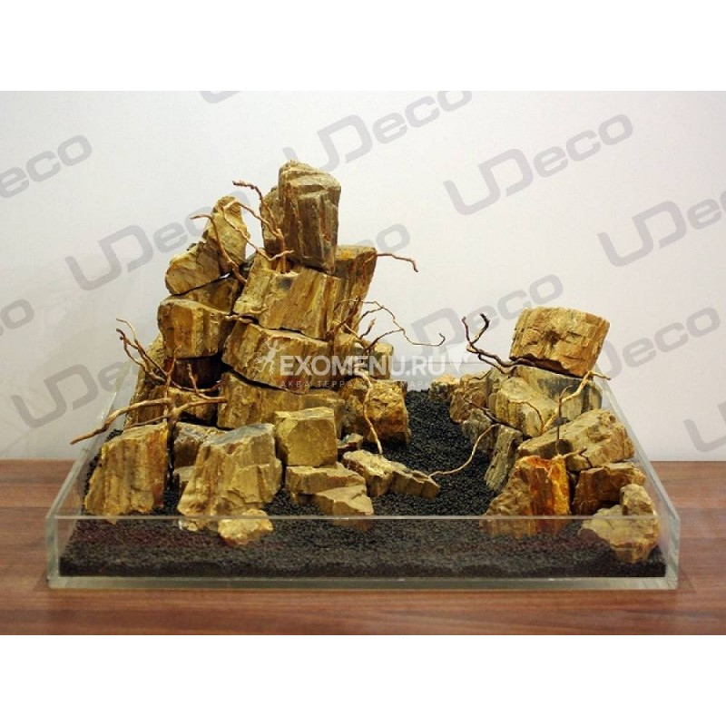 UDeco Fossilized Wood Stone MIX SET 15 - Натуральный камень